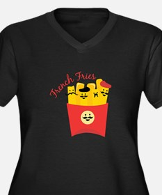 French Fries Plus Size T-Shirt