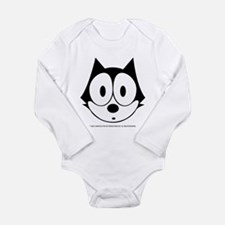 Unique Felix the cat Long Sleeve Infant Bodysuit