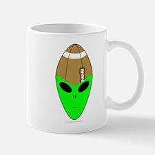 ALIEN FOOTBALL HEAD Mug