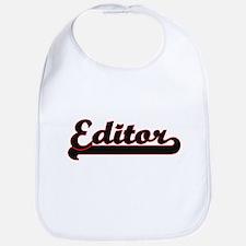 Editor Classic Job Design Bib