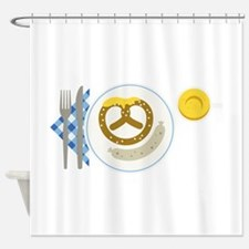 German Food Shower Curtain