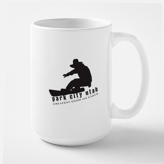 Park City Snowboarding Mugs