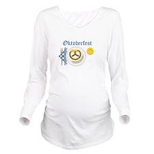 Oktoberfest Long Sleeve Maternity T-Shirt