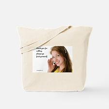 GFY Call Center Girl Tote Bag