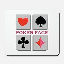 Poker Face Mousepad