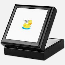 Lucky Duck Keepsake Box