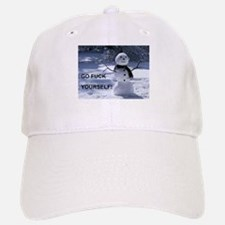 Snowman GFY Baseball Baseball Baseball Cap
