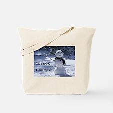 Snowman GFY Tote Bag