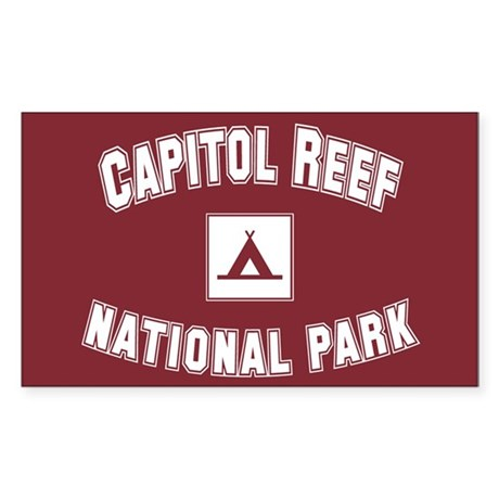 Capitol Reef National Park Rectangle Sticker