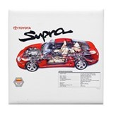 Toyota supra Drink Coasters