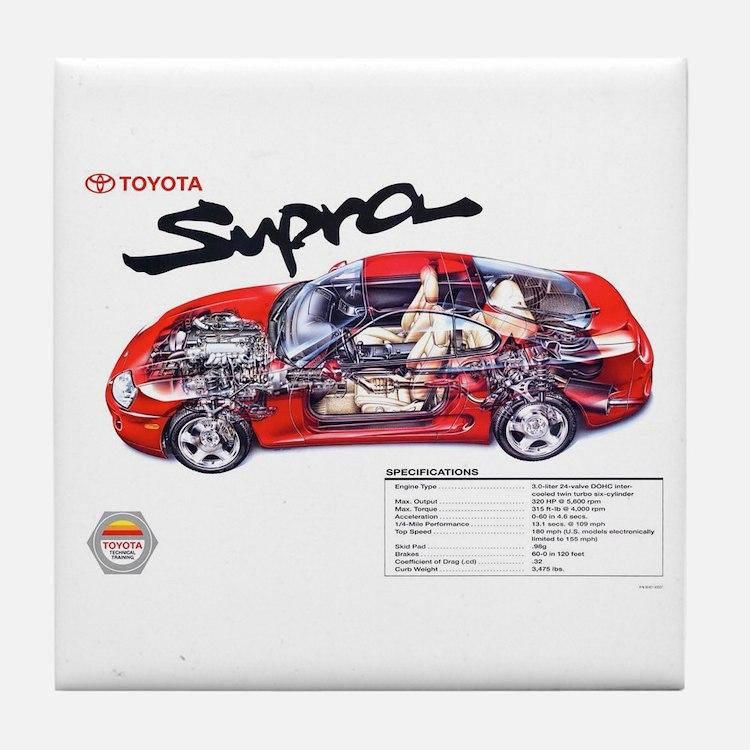 Cute Toyota Tile Coaster