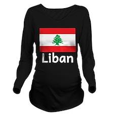 Liban Long Sleeve Maternity T-Shirt
