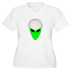 ALIEN GOLF HEAD T-Shirt