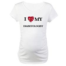 I love my Diabetologist hearts d Shirt
