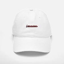 Entertainer Classic Job Design Baseball Baseball Cap