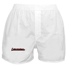 Entertainer Classic Job Design Boxer Shorts