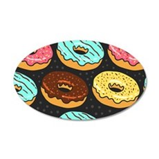 Donuts Wall Decal