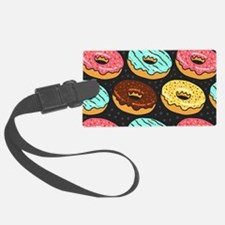 Donuts Luggage Tag