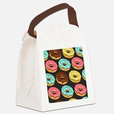 Donuts Canvas Lunch Bag