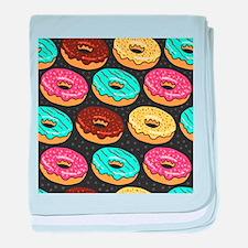 Donuts baby blanket