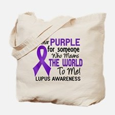 Lupus MeansWorldToMe2 Tote Bag
