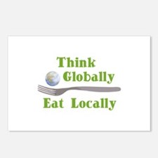 Eat Locally Postcards (Package of 8)