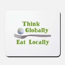 Eat Locally Mousepad