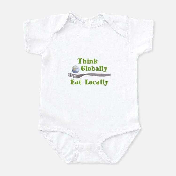 Eat Locally Infant Bodysuit