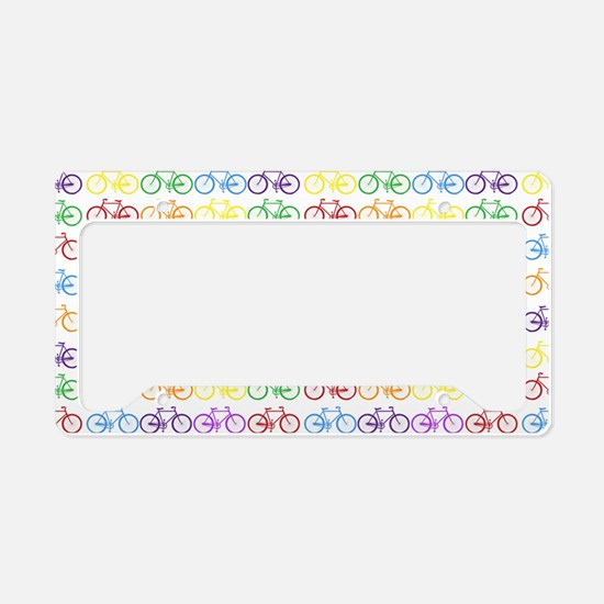 bicycles License Plate Holder
