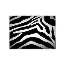 Zebra Skin 5'x7'Area Rug