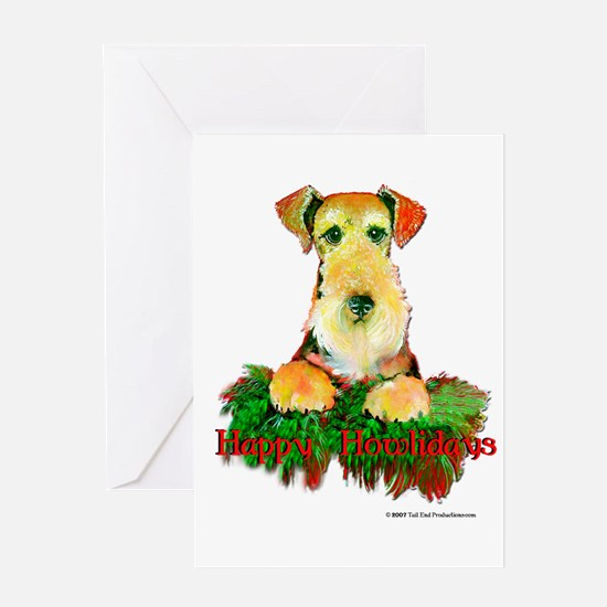 Airedale Holiday Greeting Card
