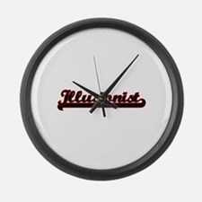 Illusionist Classic Job Design Large Wall Clock
