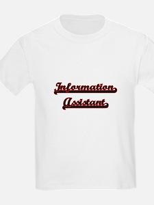 Information Assistant Classic Job Design T-Shirt