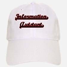 Information Assistant Classic Job Design Baseball Baseball Cap