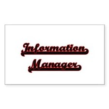 Information Manager Classic Job Design Decal