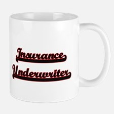 Insurance Underwriter Classic Job Design Mugs