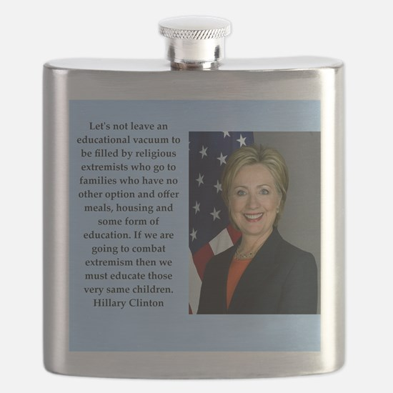 hillary clinton quote Flask