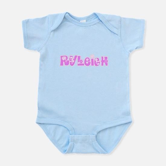 Ryleigh Flower Design Body Suit