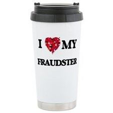 I love my Fraudster hea Travel Mug