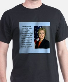 hillary clinton quote T-Shirt