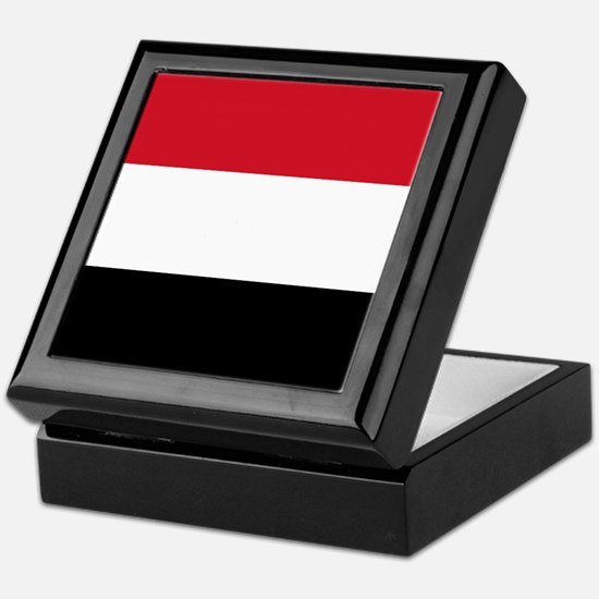 Flag of Yemen Keepsake Box