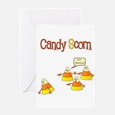 Scott Designs Candy Scorn Greeting Card
