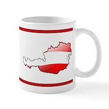 """""""Austria Bubble Map"""" Mug"""