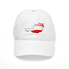 """Austria Bubble Map"" Baseball Cap"