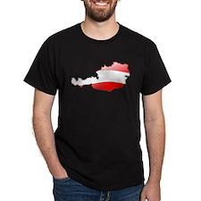 """""""Austria Bubble Map"""" T-Shirt"""