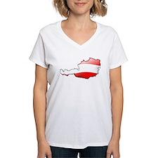 """""""Austria Bubble Map"""" Shirt"""