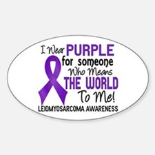 Leiomyosarcoma MeansWorldToMe2 Decal