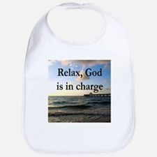 GOD IS IN CHARGE Bib