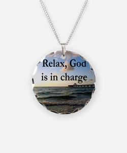 GOD IS IN CHARGE Necklace