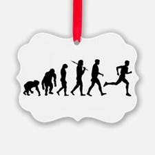 Running Evolution Ornament
